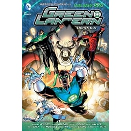 Green Lantern Lights Out Paperback Books