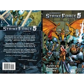 Jurassic Strike Force 5 Books