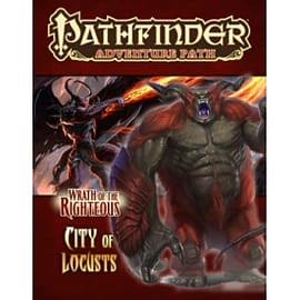 Pathfinder Adventure Path: Wrath of the Righteous Part 6 - City of Locusts Books