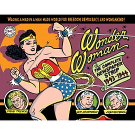 Wonder Woman The Complete Newspaper Comics Hardcover Books