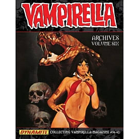 Vampirella Archives Volume 6 HC Books