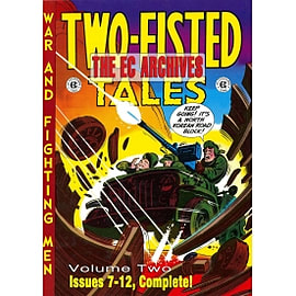 The EC Archives: Two-Fisted Tales Volume 2 Books