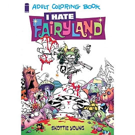 I Hate Fairyland - Adult Coloring Book - Paperback Books
