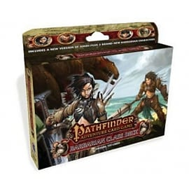 Pathfinder Adventure Card Game Barbarian Class Deck Books