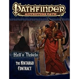 Pathfinder Adventure Path Hell's Rebels Part 5 The Kintargo Contract Books
