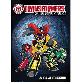 Transformers Robots in Disguise A New Mission Books