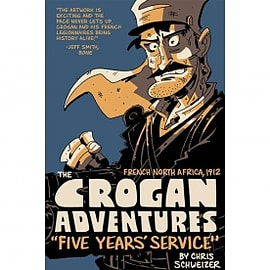 Crogan Adventures Colour Five Years' Service Hardcover Books