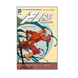 DC Comics The Flash Volume 5 History Lessons the New 52 Paperback Books