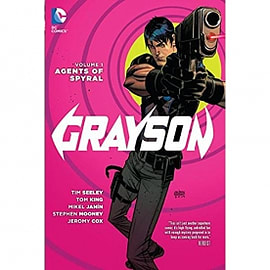 Grayson Volume 1 Agents Of Spyral The New 52 Hardcover Books