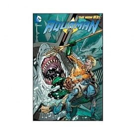 DC Comics Aquaman Volume 5 Sea Of Storms New 52 Paperback Books