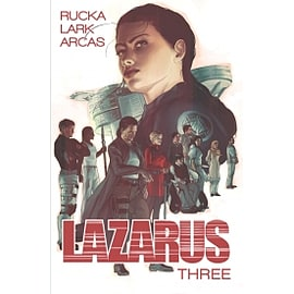 Lazarus Volume 3 Three Paperback Books