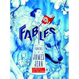 Fables Covers by James Jean New Edition Hardcover Books