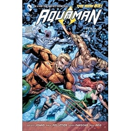 Aquaman Volume 4 Death of a King Paperback Books