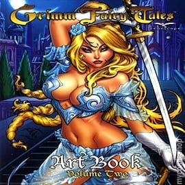 Grimm Fairy Tales Cover Art Book Volume 2 Hardcover Books