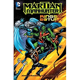 Martian Manhunter Rings of Saturn TP Paperback Books