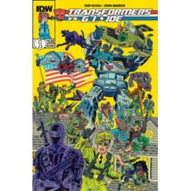 Transformers vs G.I. Joe Paperback Books