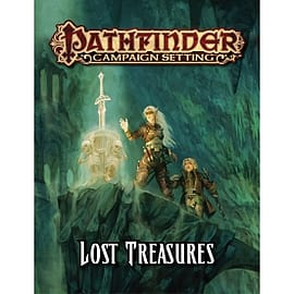 Pathfinder Campaign Setting Lost Treasures Paperback Books