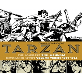 Tarzan: The Complete Russ Manning Newspaper Strips Volume 3 (1971-1974) Books
