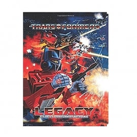 Transformers Legacy: A Celebration of Transformers Package Art Books