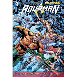 Aquaman Volume 4: Death of a King HC (The New 52) Books
