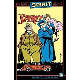 Will Eisners Spirit Archives HC Vol 10 Books