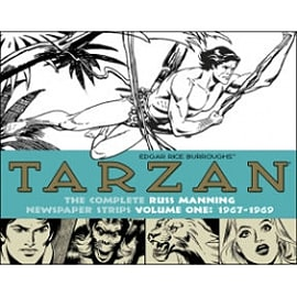 Tarzan: The Complete Russ Manning Newspaper Strips Volume 1 (1967-1969) Books
