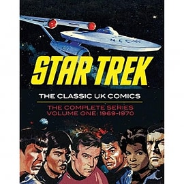 Star Trek The Classic UK Comics Volume 1 Hardcover Books