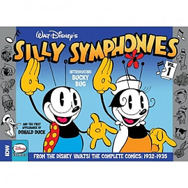 Silly Symphonies Volume 1: Complete Disney Classics Hardcover Books