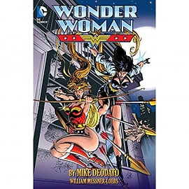 Wonder Woman By Mike Deodato Books