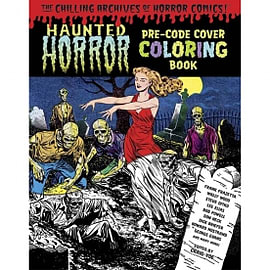 Haunted Horror Pre-Code Cover Coloring Book, Volume 1 Books