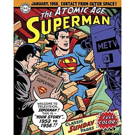 Superman Atomic Age: Sundays: Volume 2: 1953-1956 Hardcover Books