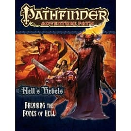 Pathfinder Adventure Path: Hell's Rebels Part 6 - Breaking the Bones of Hell Books