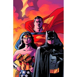 Batman Superman Wonder Woman Trinity Deluxe Edition Hardcover Books