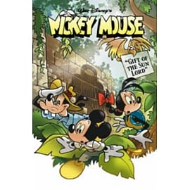 Mickey Mouse Gift of the Sun Lord Books