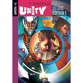 Unity Volume 1 Deluxe Edition Hardcover Books
