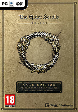 The Elder Scrolls Online GOLD EDITION PC Cover Art