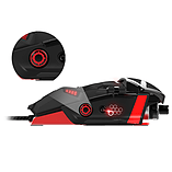 Mad Catz RAT 6 Laser Gaming Mouse 8200dpi – Black screen shot 3