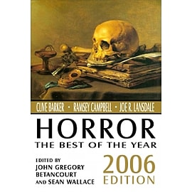 Horror: The Best of the Year, 2006 Edition Books