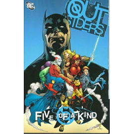 Outsiders Five Of A Kind TP Books
