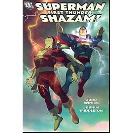 Superman Shazam First Thunder TP Books