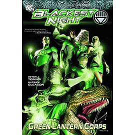 Blackest Night Green Lantern Corps TP Books