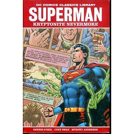 Dc Library Superman Kryptonite Nevermore HC Books
