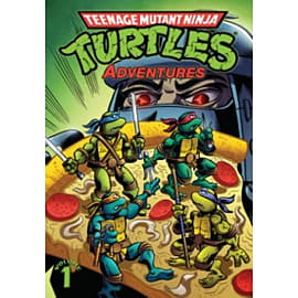 Teenage Mutant Ninja Turtles Adventures Volume 1 Books
