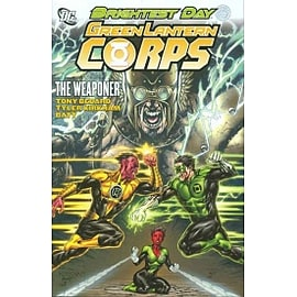 Green Lantern Corps The Weaponer HC Books