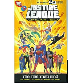 Justice League Unlimited Ties That Bind TP Books