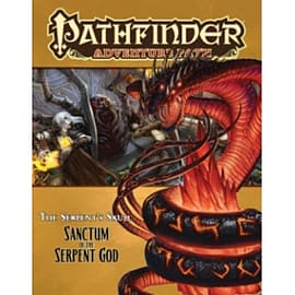 Pathfinder Adventure Path: The Serpent's Skull Part 6 - Sanctum of the Serpent God Books