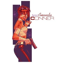 Art of Amanda Conner HC Books