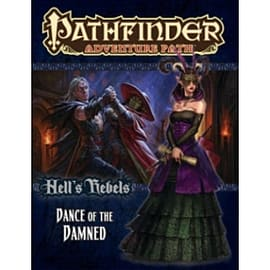 Pathfinder Adventure Path Hell's Rebels Part 3 Dance of the Damned Books