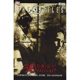 X-Files/30 Days Of Night Hardcover Books