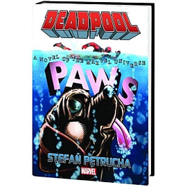 Deadpool Paws Prose Novel Hardcover Books